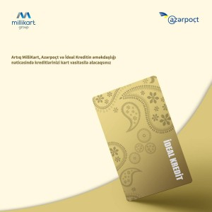 """MILLIKART GROUP"" HAS SUCCESSFULLY COMPLETED THE FIRST CARD PROJECT IN THE SECTOR OF NON-BANK CREDIT ORGANIZATIONS IN THE COUNTRY"